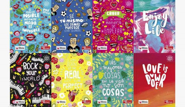 Teletón lanza colección de cuadernolas