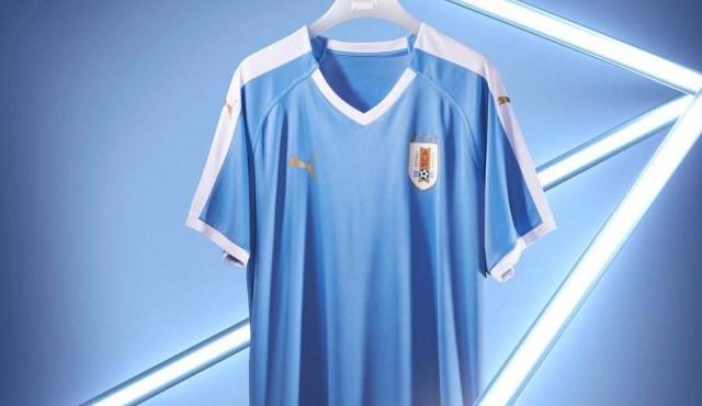 Puma presentó la nueva camiseta de Uruguay