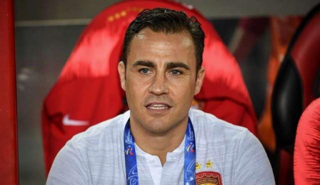 La leyenda italiana Fabio Cannavaro es el nuevo entrenador de China