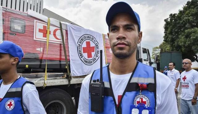 Venezuela comenzó a recibir ayuda humanitaria de la Cruz Roja