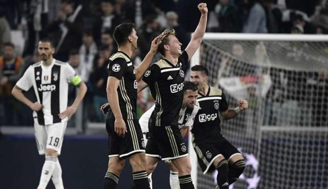 Ajax dejó sin el sueño de la Champions a la Juventus de Cristiano