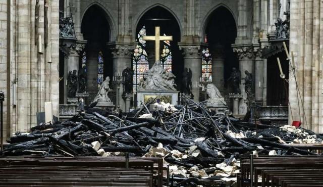 Lo que se sabe del incendio de Notre Dame de París