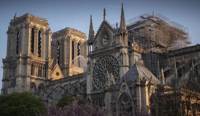 Refuerzan los puntos vulnerables de Notre Dame tras el incendio