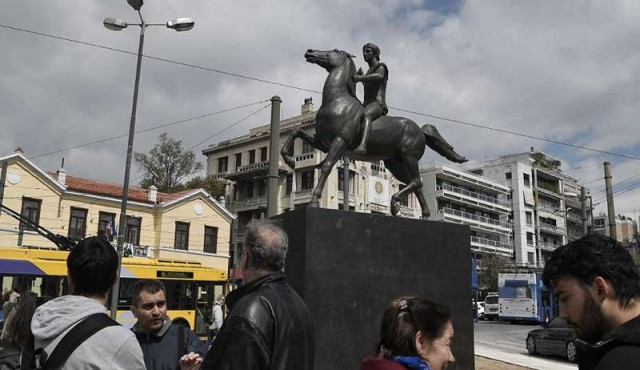 Atenas instaló su primera estatua de Alejandro Magno