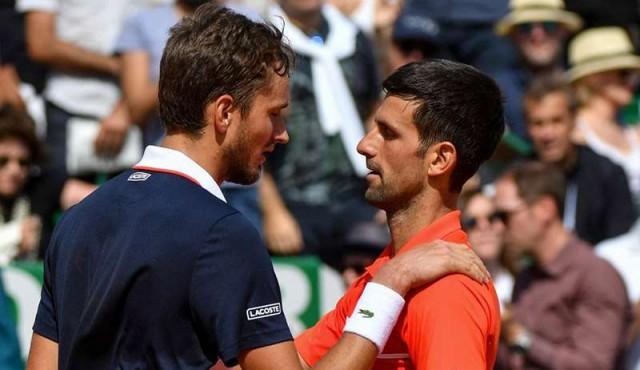 Djokovic cayó eliminado en cuartos de Montecarlo a manos de Medvedev