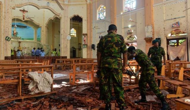 Sri Lanka acusa a movimiento islamista de los atentados del domingo de Pascua