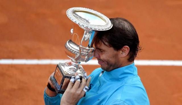 Nadal derrotó a Djokovic y ganó su noveno título en Roma