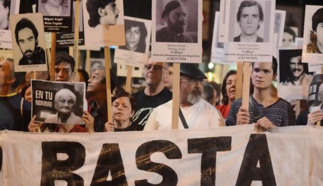 """Nueva Marcha del Silencio: """"que nos digan donde están nuestros familiares"""""""