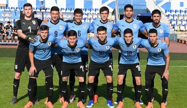 Uruguay debuta en el Mundial Sub20