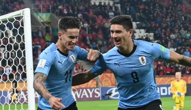 Uruguay debutó con triunfo en el Mundial Sub 20