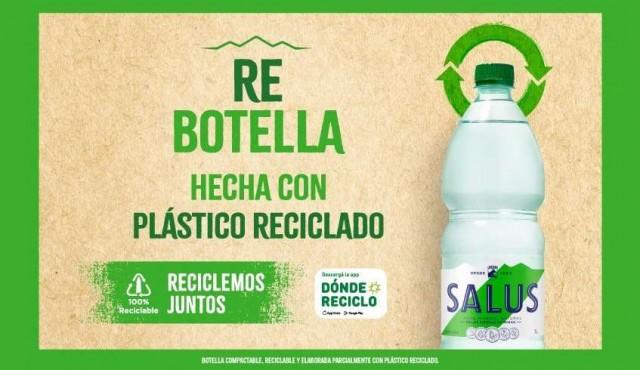 Salus lanza Re botella y reafirma su compromiso con el cuidado del medio ambiente
