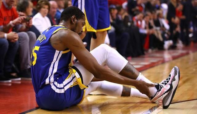 Kevin Durant fue operado de una rotura del tendón de Aquiles