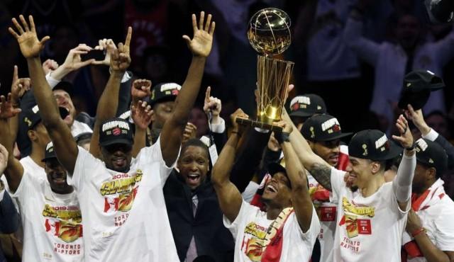 Toronto Raptors destronó a Golden State