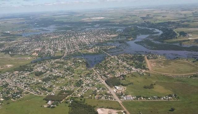 """Inundación en Durazno """"va a ser mayor que la del 2007"""""""