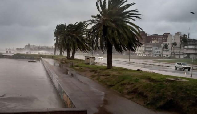 Ciclón puede causar vientos fuertes y muy fuertes
