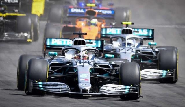 Hamilton ganó en Francia delante de Bottas en nuevo doblete de Mercedes