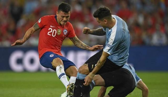Uruguay le gana 1 a 0 a Chile en Maracaná