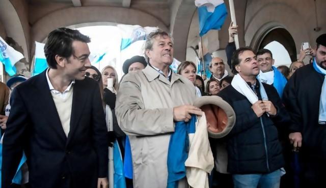 ¿Donación sin registro?: los 50.000 dólares de Sartori a Lacalle en 2014