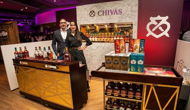 Chivas Regal, Beefeater Gin y Cafayate formaron parte del evento The Blend