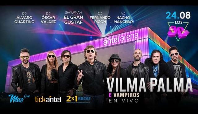 Este 24 de agosto la fiesta es en el Antel Arena