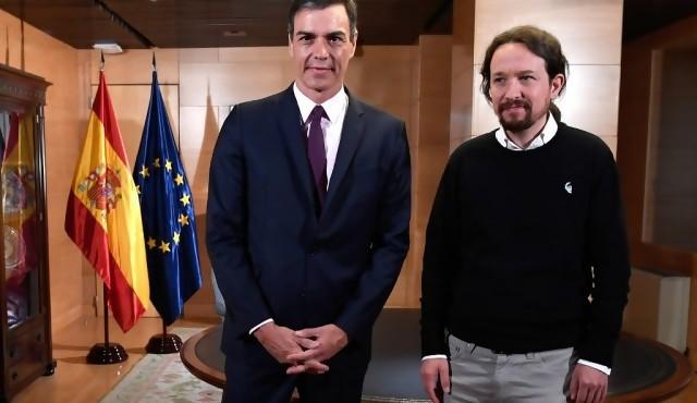 Sánchez acusa a Iglesias de romper negociación para formar gobierno en España
