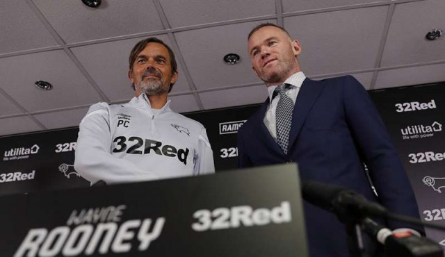 Wayne Rooney dejará Estados Unidos y será jugador-preparador en el Derby County