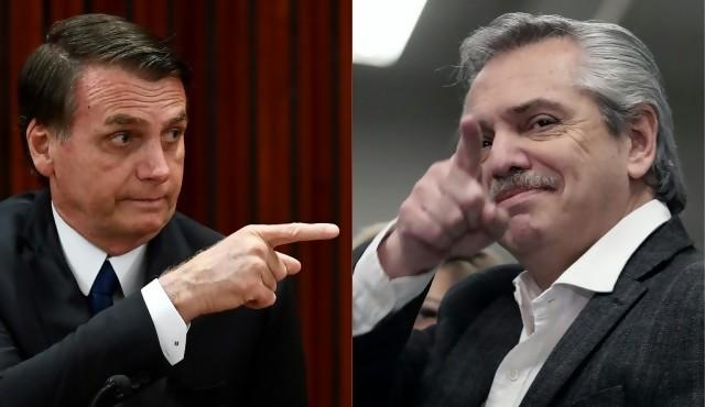 Fernández-Bolsonaro, una polarización que podría complicar al Mercosur
