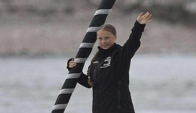 Greta Thunberg parte a Nueva York a bordo de un velero cero emisiones