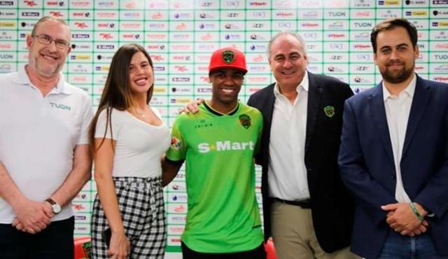 Diego Rolán presentado como nuevo jugador del FC Juárez