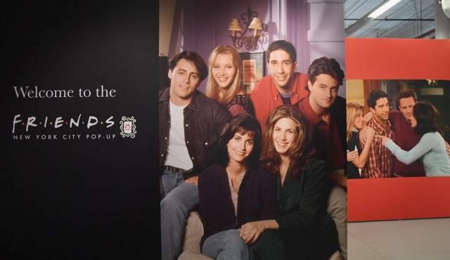 Exhibición en Nueva York celebra el 25 aniversario de Friends