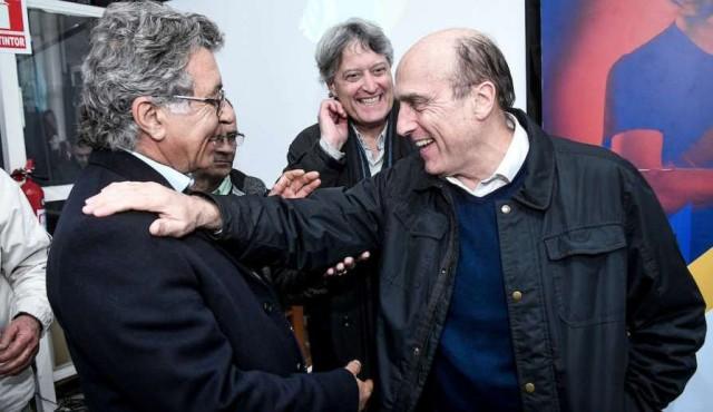 Con Vilar como presentador y Pérez emocionado, Michelini formalizó su alianza con el orejano