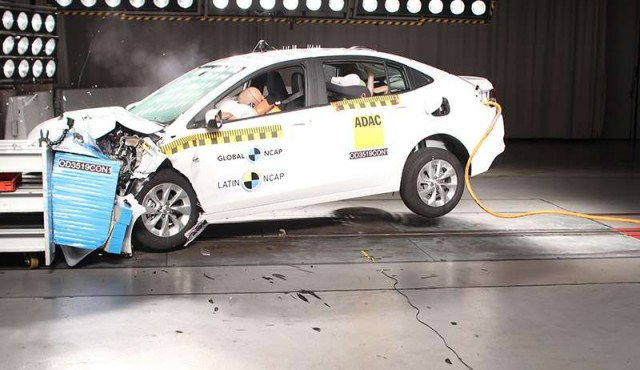 Latin NCAP: cinco estrellas para el Chevrolet New Onix Plus