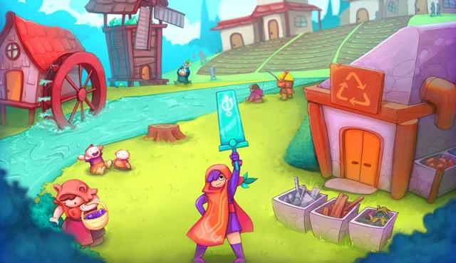"""""""Valle Dorado"""", el videojuego con sello de la IM que promueve la economía circular"""