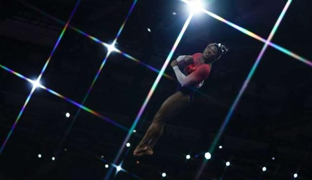 EE.UU. gana el Mundial de gimnasia, 15º oro mundialista para Simone Biles