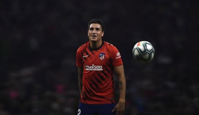 """""""Es un orgullo ser uno de los capitanes"""" del Atlético de Madrid, dijo Giménez"""