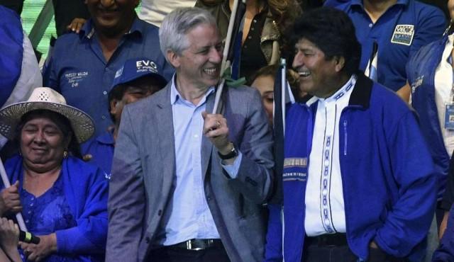 Morales y Mesa juegan sus últimas cartas en cierres de campaña en Bolivia