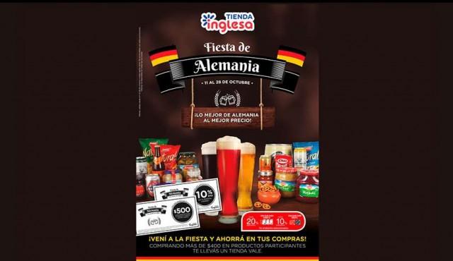 La clásica Fiesta de Alemania llega a Tienda Inglesa
