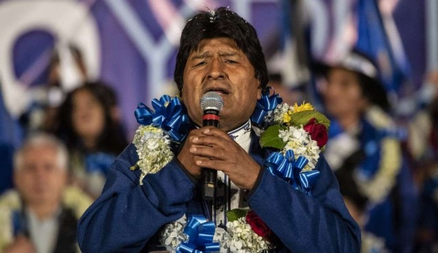 Evo Morales asegura que si gana será su último período como presidente