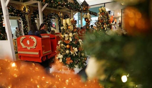 Punta Carretas Shopping celebró la llegada de una nueva Navidad