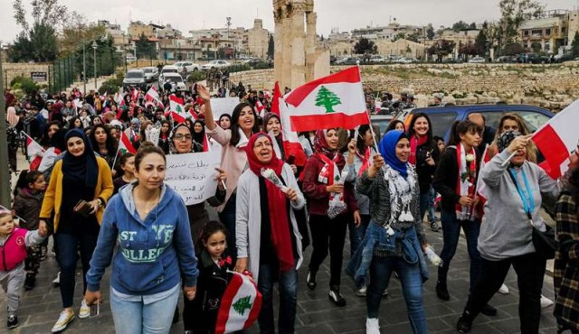 La doble revolución de las mujeres en Líbano