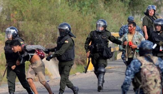 Bolivia vivió la jornada más fuerte desde el estallido de las protestas