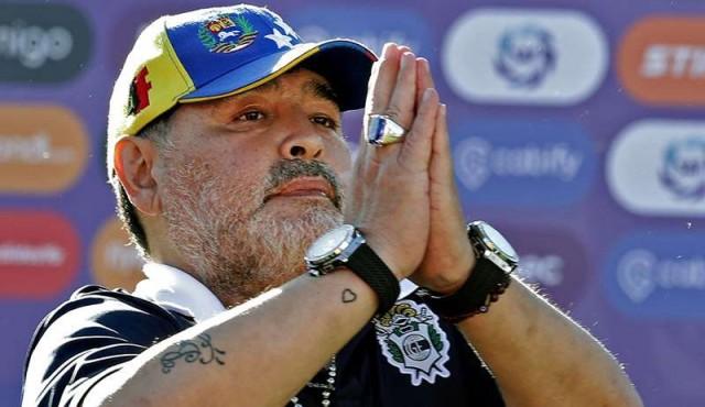 Maradona renunció como entrenador de Gimnasia y Esgrima La Plata