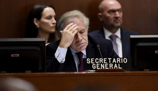 """Promueven competencia a Almagro por considerarlo una """"figura divisiva"""" en la OEA"""