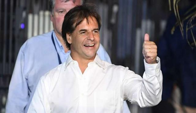 Luis Lacalle Pou es el presidente electo