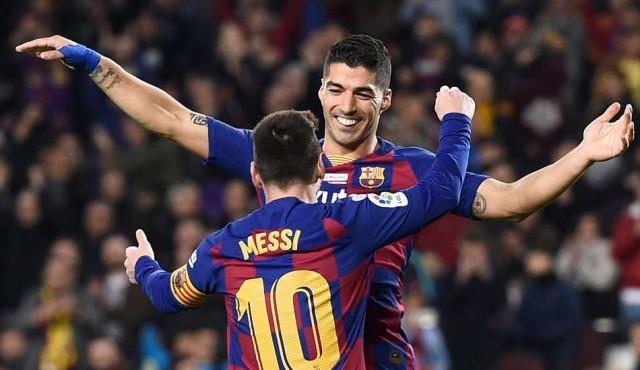 Suárez hizo uno de los mejores goles de su carrera