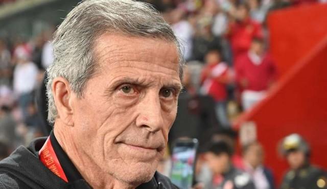 """Tabárez: """"Cuando un entrenador anuncia que se va, trae problemas al equipo"""""""