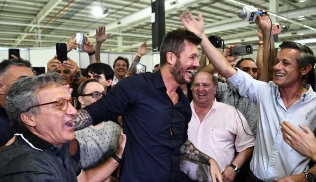 Marcelo Tinelli fue electo presidente de San Lorenzo
