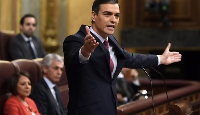 Pedro Sánchez elegido presidente de un gobierno de izquierda en España