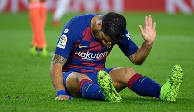 Luis Suárez será operado del menisco de la rodilla derecha