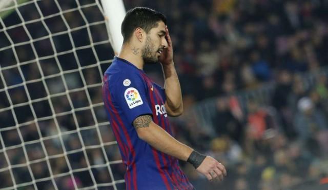 Luis Suárez estará cuatro meses de baja